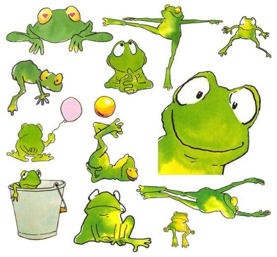 Лягушка рисунок, картинки, изображения - подборка 25 фото 23