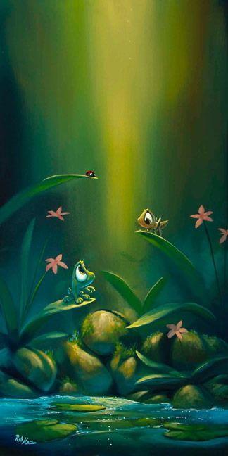 Лягушка рисунок, картинки, изображения - подборка 25 фото 24