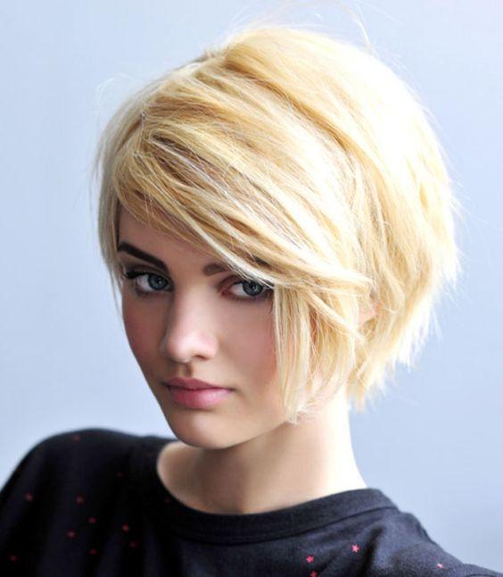 Вид сзади стрижки на короткие волосы - фото, картинки (13)