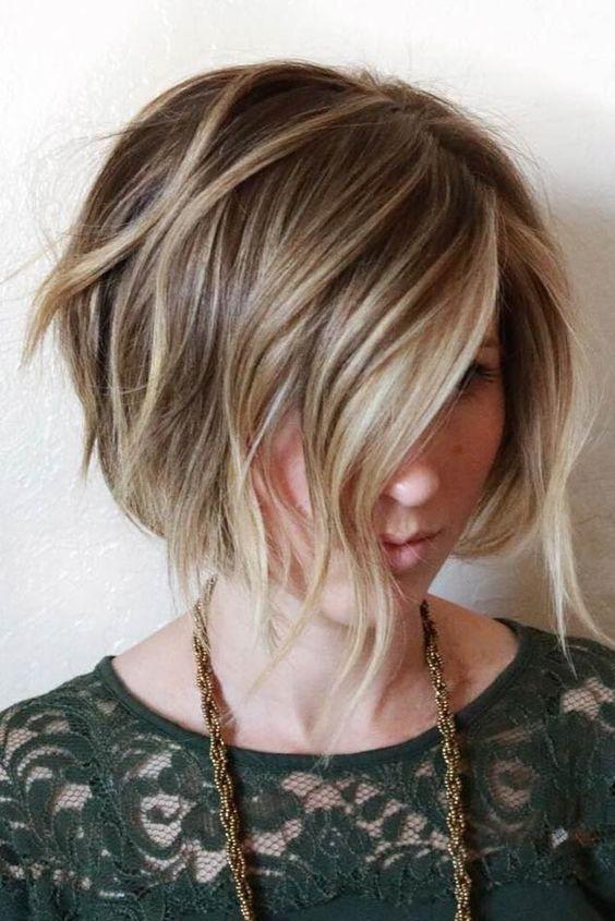 Вид сзади стрижки на короткие волосы - фото, картинки (15)