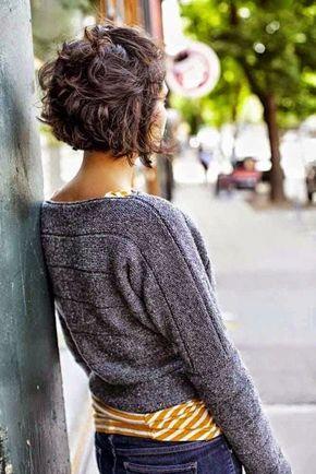 Вид сзади стрижки на короткие волосы - фото, картинки (16)