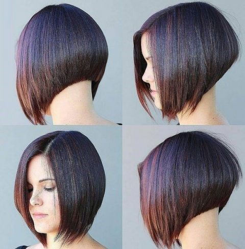 Вид сзади стрижки на короткие волосы - фото, картинки (19)