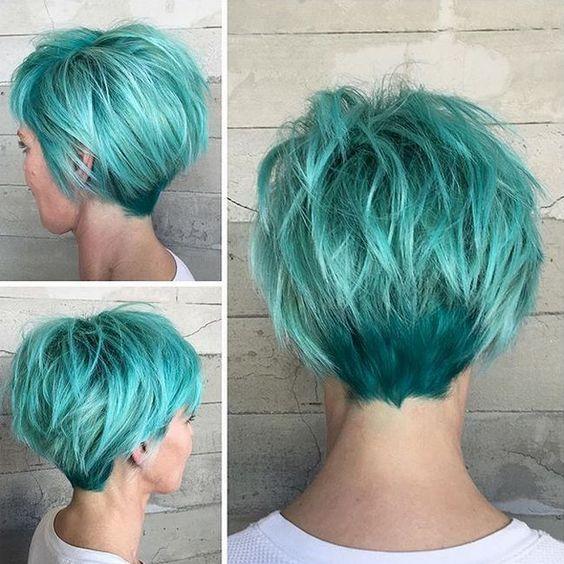 Вид сзади стрижки на короткие волосы - фото, картинки (7)