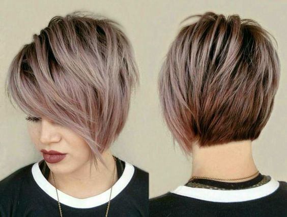 Вид сзади стрижки на короткие волосы - фото, картинки (8)