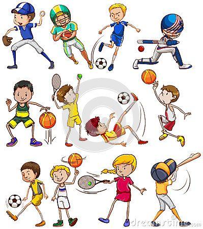 Все виды спорта картинки для детей - подборка 25 изображений (3)