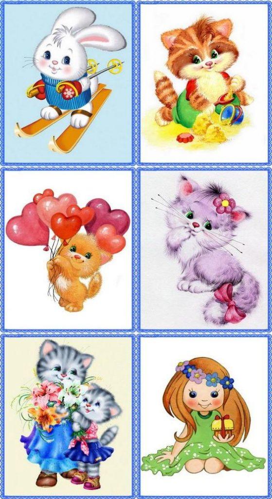Детские картинки на шкафчики в детском саду - 25 фото (16)