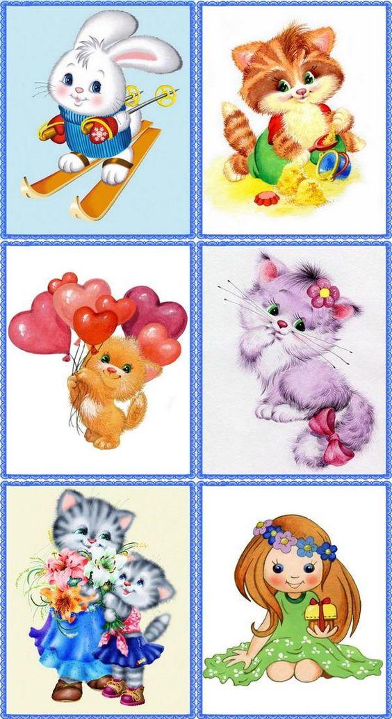 Детские картинки на шкафчики в детском саду   25 фото (16)