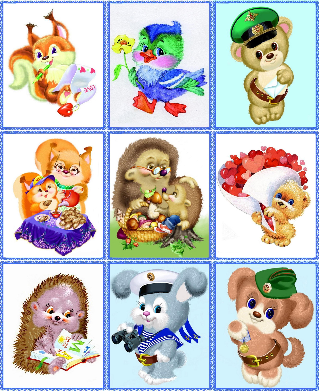 Детские картинки на шкафчики в детском саду   25 фото (2)