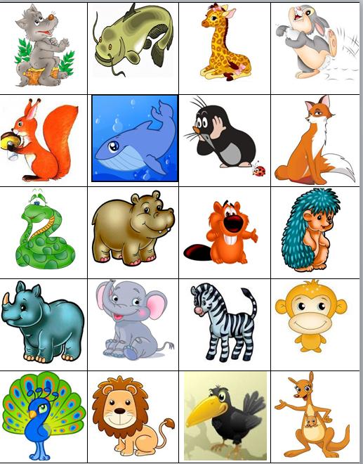 Детские картинки на шкафчики в детском саду - 25 фото (2)