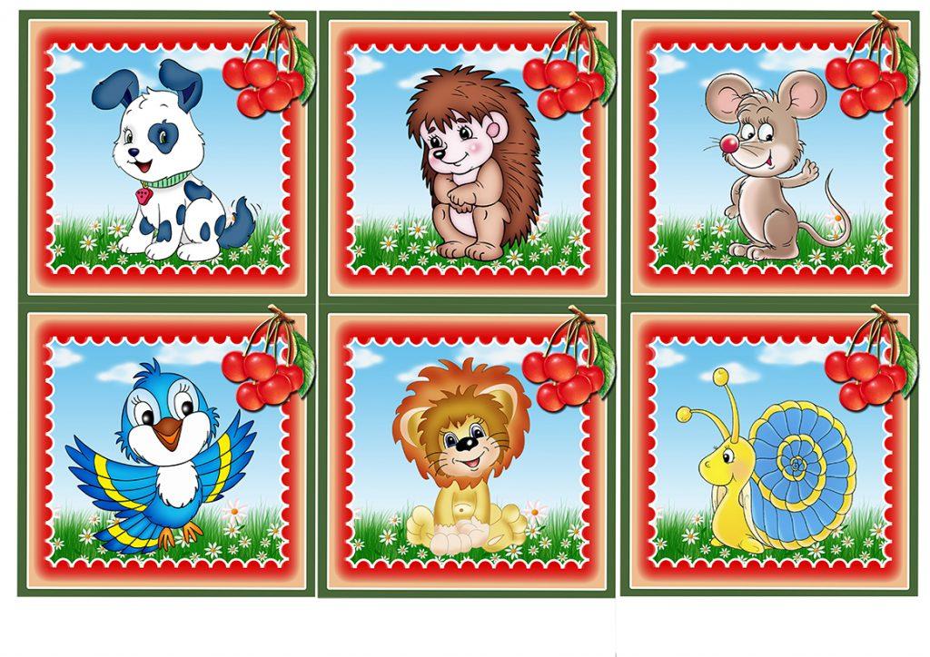 Детские картинки на шкафчики в детском саду - 25 фото (20)