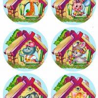Детские картинки на шкафчики в детском саду   25 фото (5)
