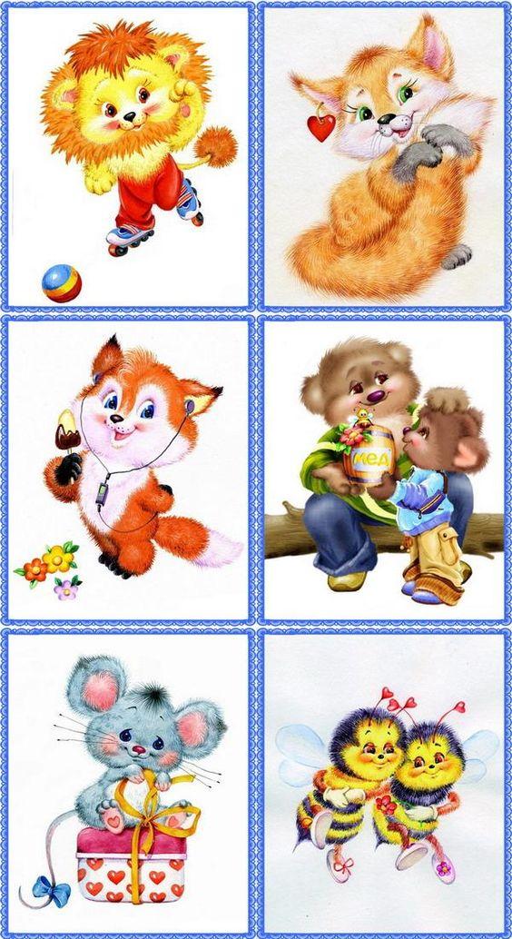 Детские картинки на шкафчики в детском саду   25 фото (6)