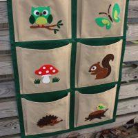 Кармашки на шкафчик в детском саду своими руками   фото, картинки (12)