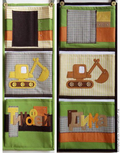 Кармашки на шкафчик в детском саду своими руками - фото, картинки (13)