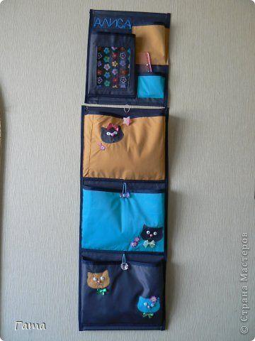 Кармашки на шкафчик в детском саду своими руками - фото, картинки (3)