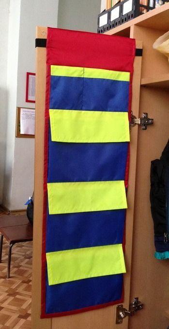 Кармашки на шкафчик в детском саду своими руками - фото, картинки (4)