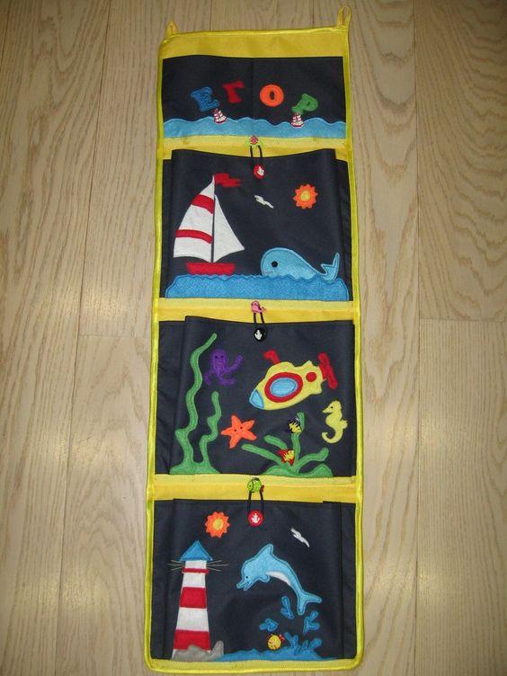 Кармашки на шкафчик в детском саду своими руками - фото, картинки (6)