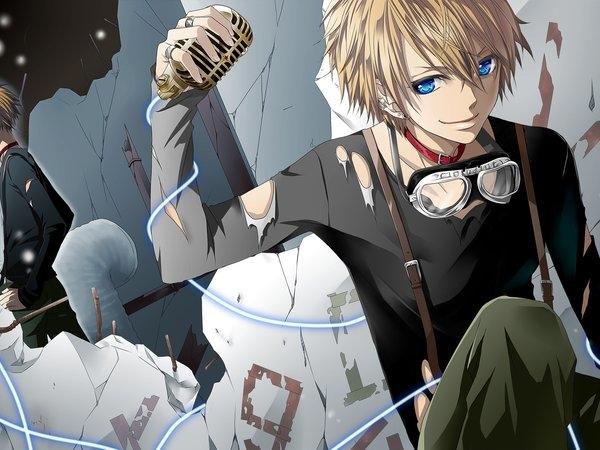 Картинки на рабочий стол аниме для парней (1)