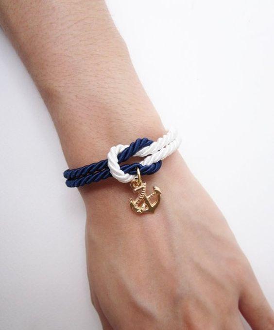 Красивые браслеты на руку своими руками - подборка 24 фото (15)