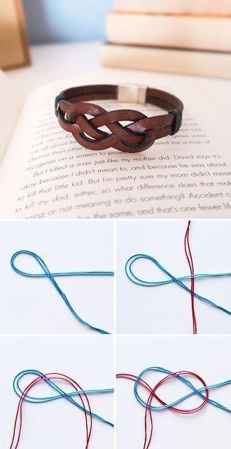 Красивые браслеты на руку своими руками - подборка 24 фото (20)