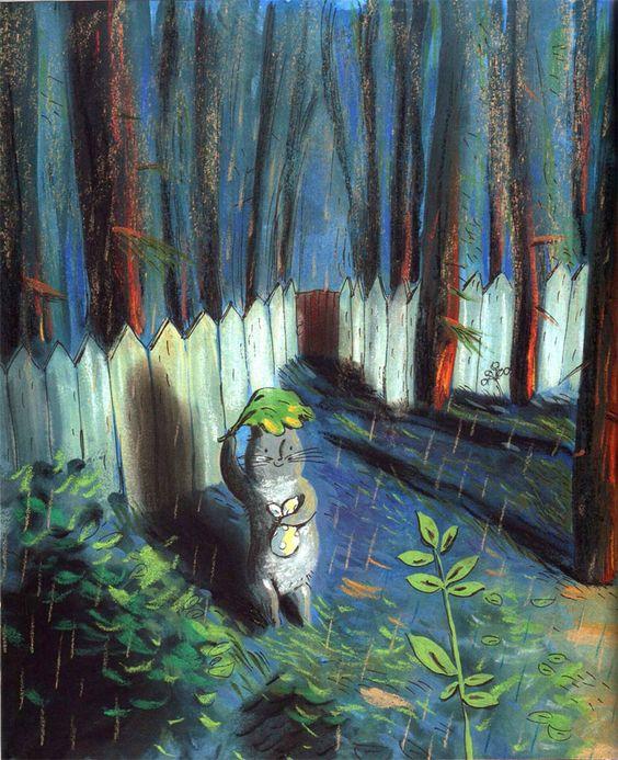 Красивые картины с дождем - подборка 17 изображений (5)