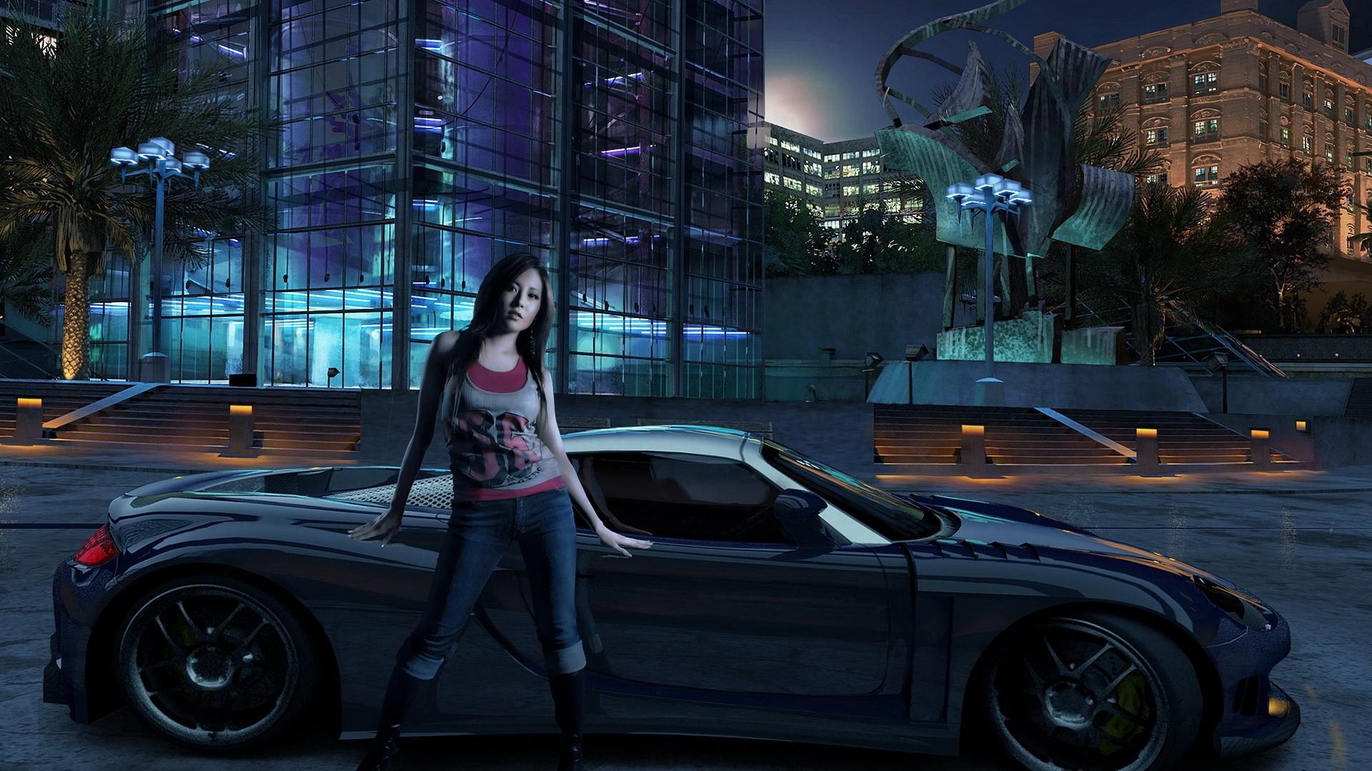 Крутые картинки на рабочий стол девушки с авто   подборка (12)