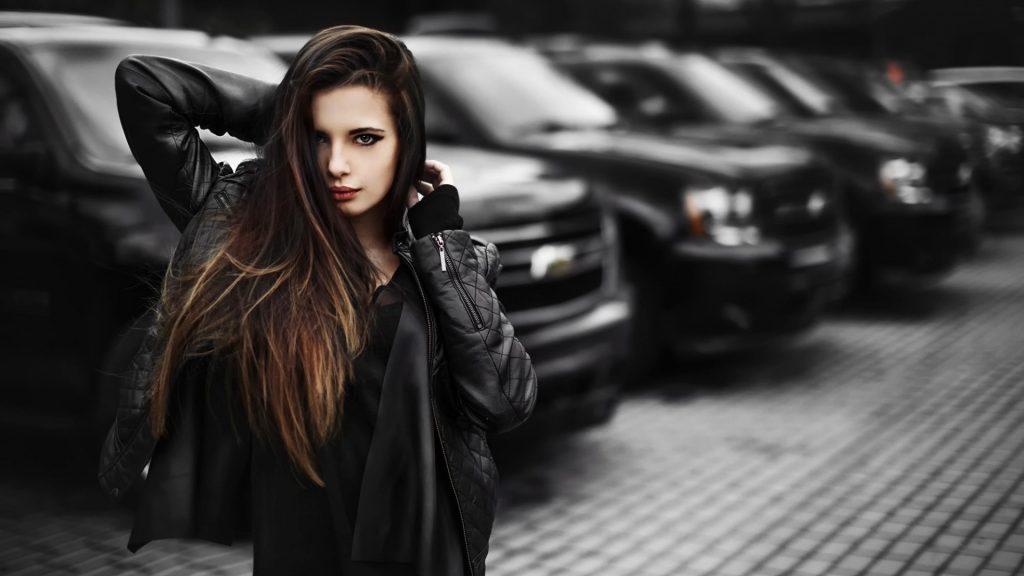 Крутые картинки на рабочий стол девушки с авто - подборка (9)