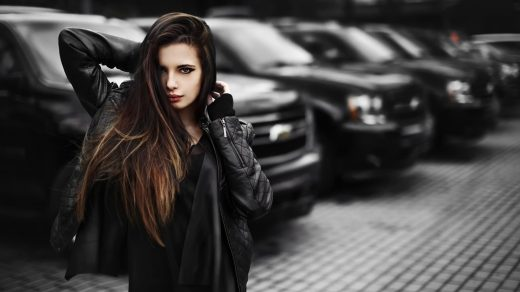 Крутые картинки на рабочий стол девушки с авто   подборка (9)