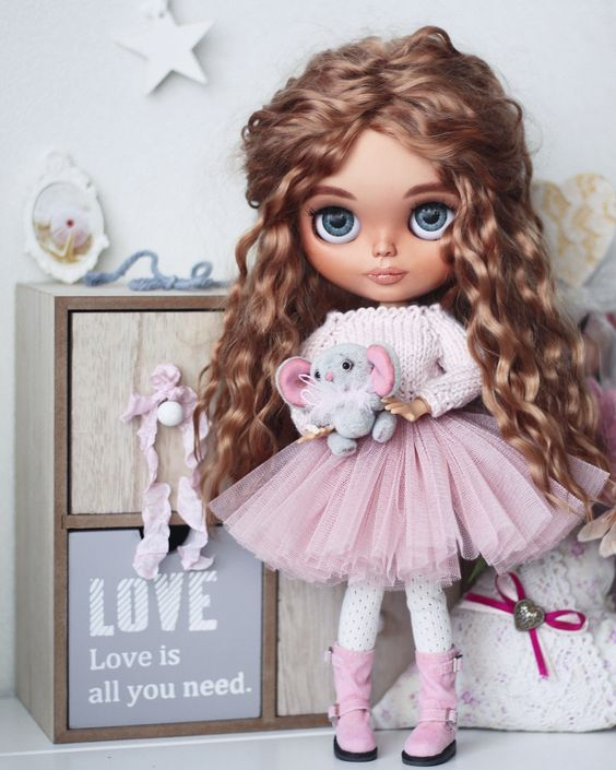 Куклы и одежда для них - красивая подборка 30 картинок (15)