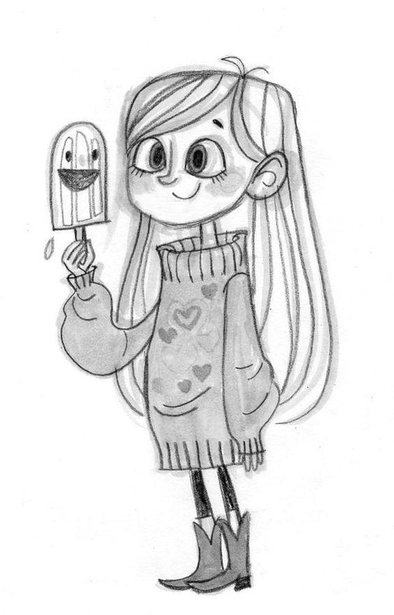 Скачать рисунки карандашом для срисовки - легкие и красивые (6)