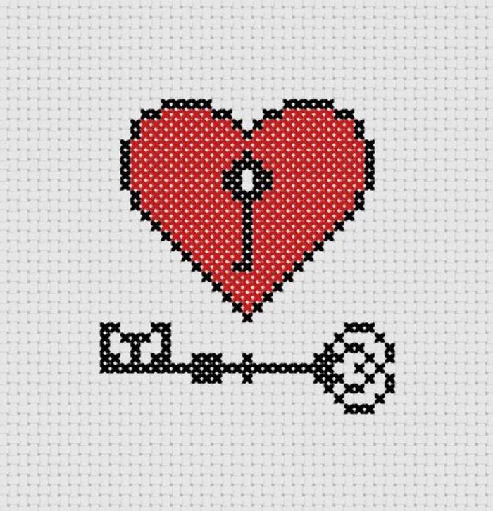 Схемы вышивки крестом для начинающих - маленькие картинки (1)
