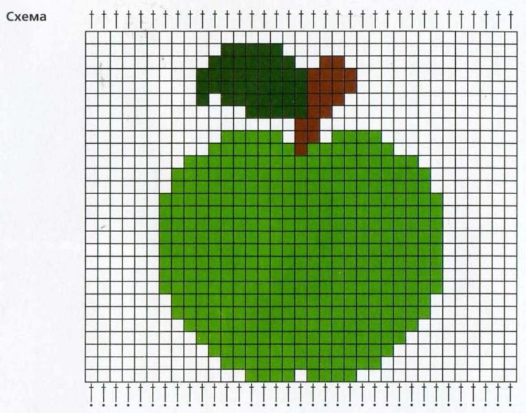Схемы вышивки крестом для начинающих - маленькие картинки (2)