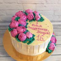 Торт из мастики на 16 лет девушке   красивые фотографии (18)