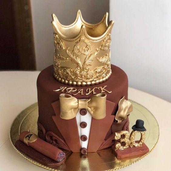 Торт на День Рождения мужчине 45 лет - оригинальные фото тортов (11)