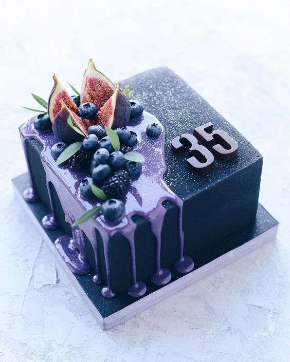 Торт на День Рождения мужчине 45 лет - оригинальные фото тортов (12)