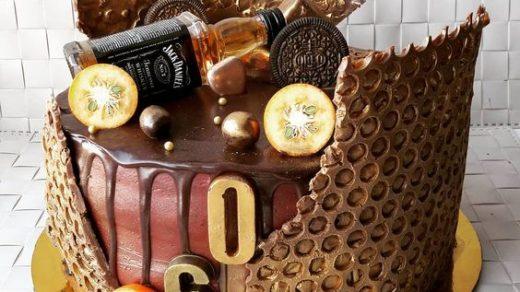 Торт на День Рождения мужчине 45 лет   оригинальные фото тортов (17)