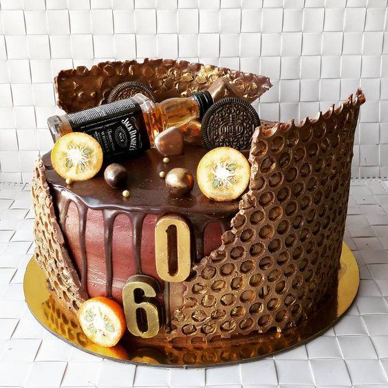 Торт на День Рождения мужчине 45 лет - оригинальные фото тортов (17)