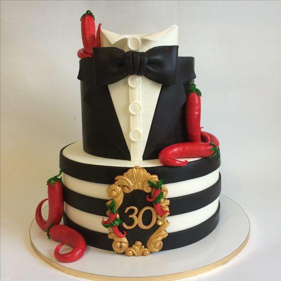 Торт на День Рождения мужчине 45 лет - оригинальные фото тортов (18)
