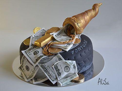 Торт на День Рождения мужчине 45 лет - оригинальные фото тортов (22)