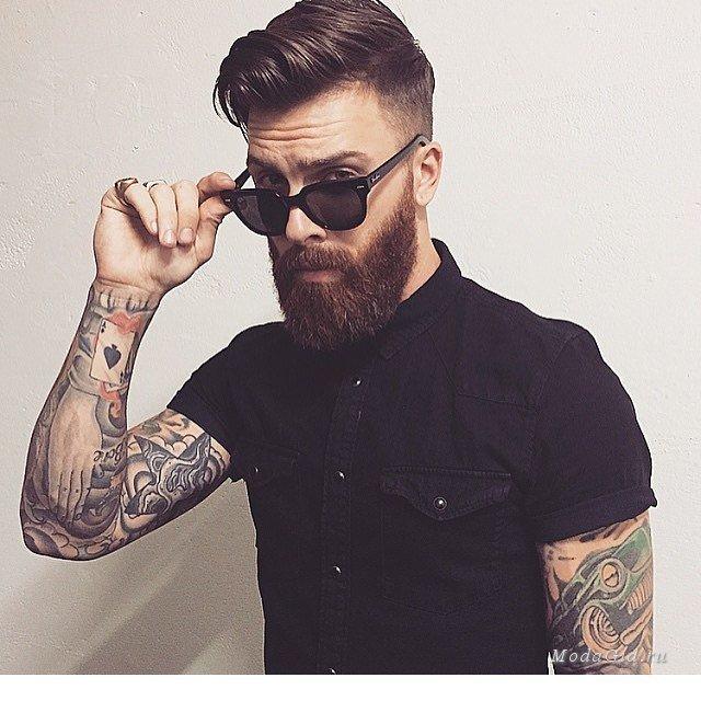 Фото мужчин в очках и с бородой - подборка 20 картинок (1)