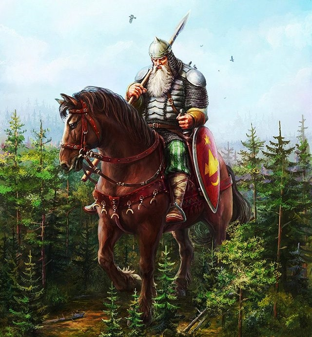 Богатыри на коне картинки красивые 002