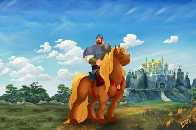Богатыри на коне картинки красивые 019