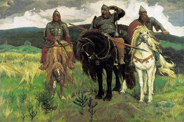 Богатыри на коне картинки красивые 023