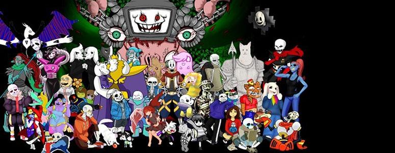Все персонажи Андертейл имена и картинки001