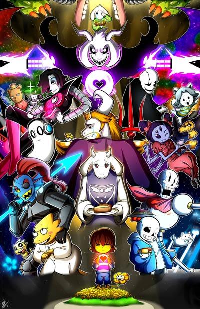 Все персонажи Андертейл имена и картинки011