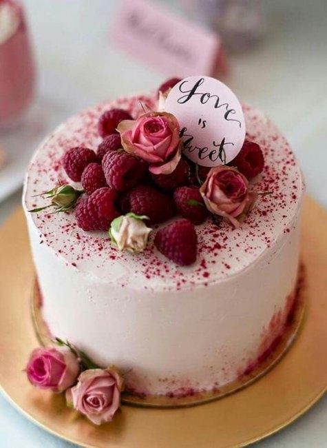 Годовщина свадьбы 1 год торт015