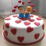 Годовщина свадьбы 1 год торт022