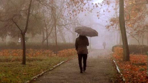 Девушка уходит в туман картинки014