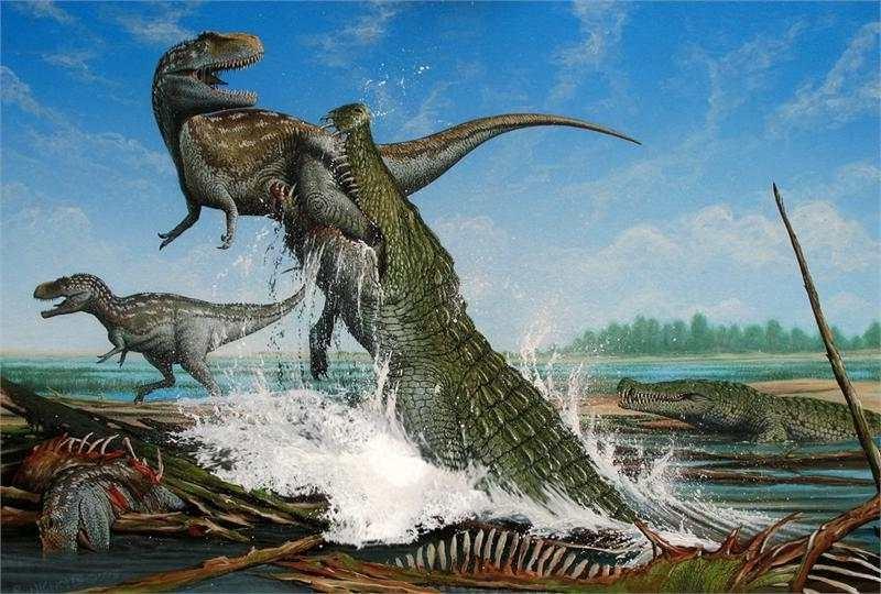 Динозавры в наше время фото011