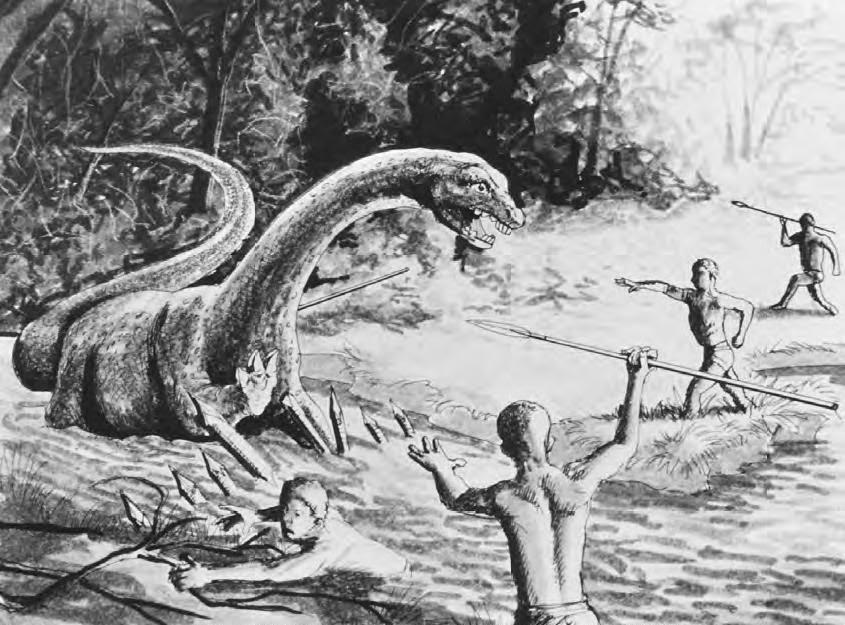 Динозавры в наше время фото020